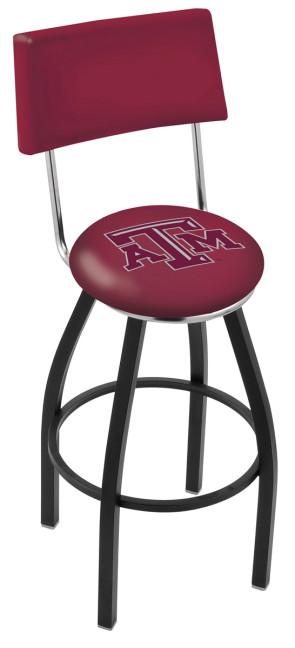L8B4 Texas A&M Logo Bar Stool