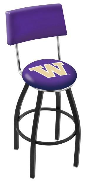L8B4 University of Washington Logo Bar Stool