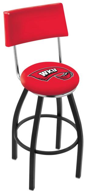 L8B4 Western Kentucky University Logo Bar Stool