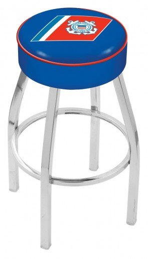 L8C1 US Coast Guard Logo Bar Stool