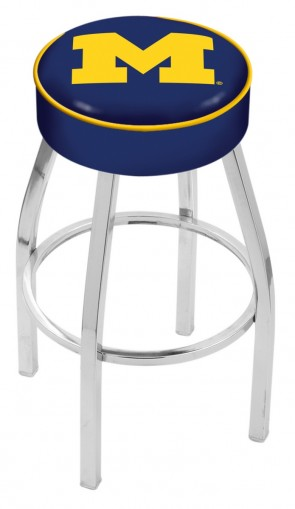 L8C1 University of Michigan Logo Bar Stool