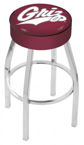 L8C1 University of Montana Logo Bar Stool