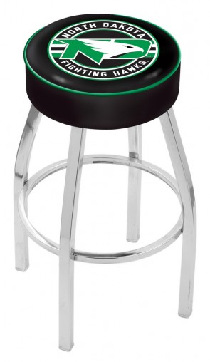 L8C1 University of North Dakota Logo Bar Stool