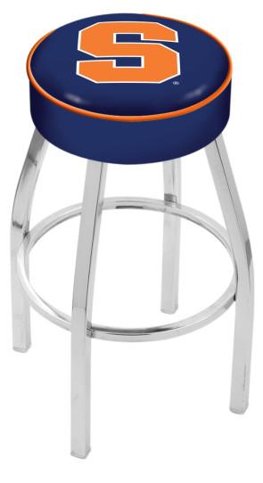 L8C1 Syracuse University Logo Bar Stool
