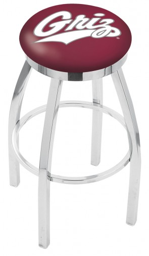 L8C2C University of Montana Logo Bar Stool