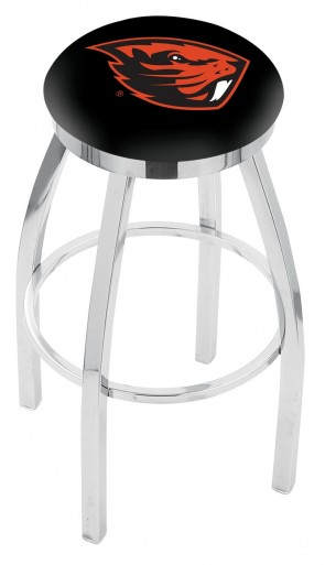 L8C2C Oregon State University Logo Bar Stool