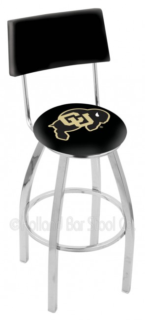 L8C4 University of Colorado Logo Bar Stool