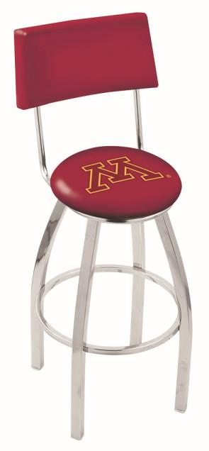 L8C4 University of Minnesota Logo Bar Stool