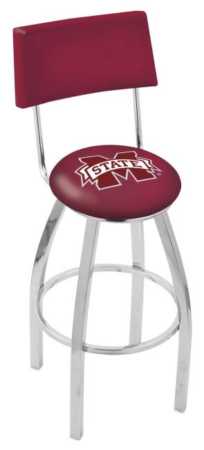 L8C4 Mississippi State University Logo Bar Stool