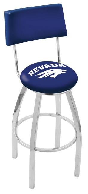 University of Nevada Logo Bar Stool