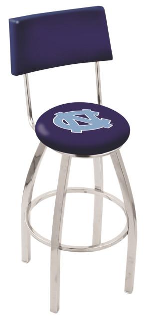 L8C4 University of North Carolina Logo Bar Stool