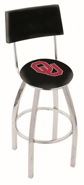 L8C4 University of Oklahoma Logo Bar Stool