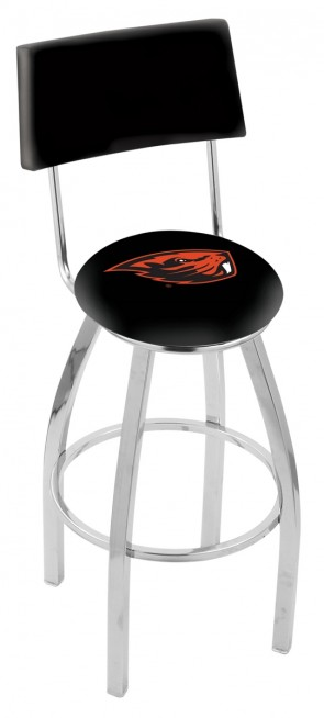 L8C4 Oregon State University Logo Bar Stool