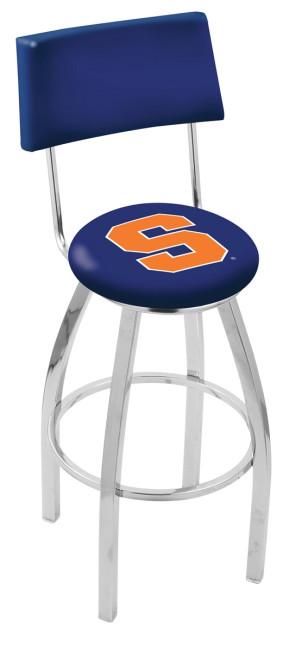 L8C4 Syracuse University Logo Bar Stool