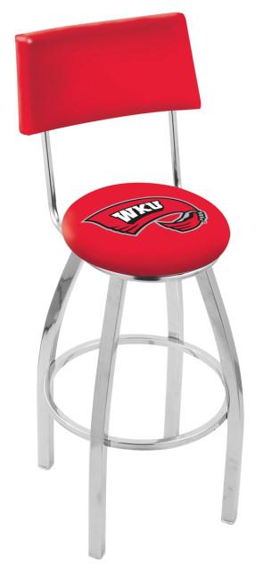 L8C4 Western Kentucky University Logo Bar Stool
