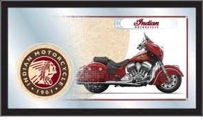 Indian Motorcycles Chief Red Mirror