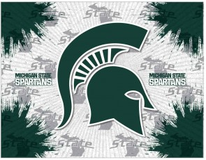 Michigan State University Logo Printed Canvas Art