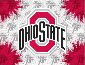 Ohio State University Logo Printed Canvas Art