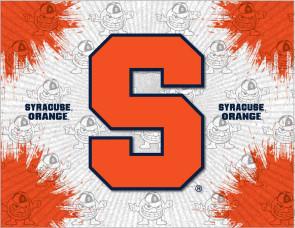 Syracuse University Logo Printed Canvas Art