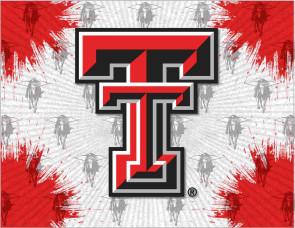 Texas Tech Logo Printed Canvas Art