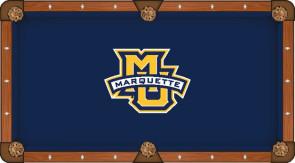 Marquette University Billiard Cloth