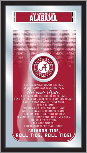 University of Alabama Fight Song Mirror