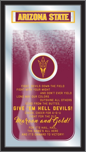 Arizona State Pitchfork Fight Song Mirror