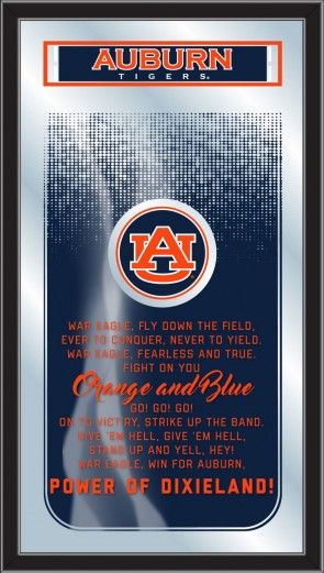 Auburn University Fight Song Mirror