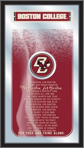 Boston College Fight Song Mirrors