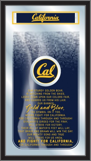 University of California Fight Song Mirror