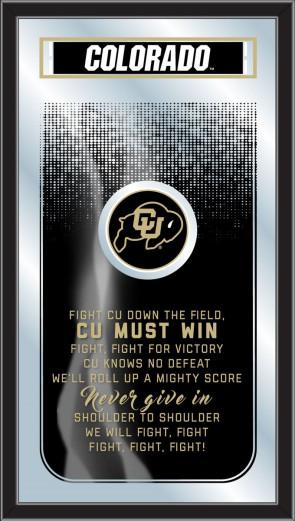 University of Colorado Fight Song Mirror