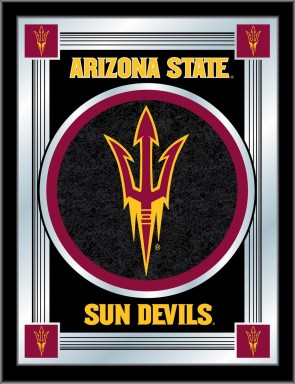 Arizona State Pitchfork Logo Mirror
