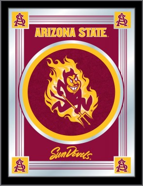 Arizona State Sparky Logo Mirror