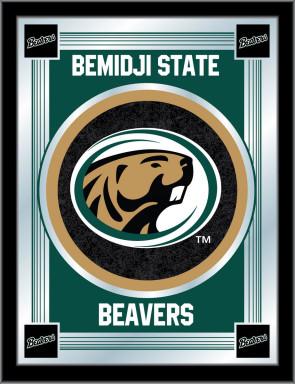 Bemidji State Logo Mirror Front View