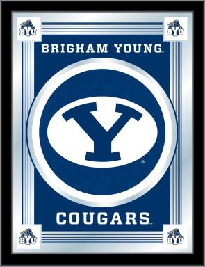 Brigham Young Logo Mirror