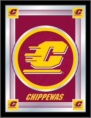 Central Michigan Logo Mirror