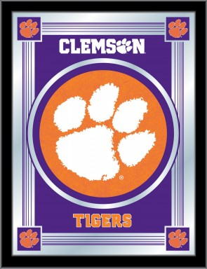Clemson Logo Mirror