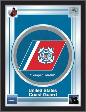 US Coast Guard Logo Mirror