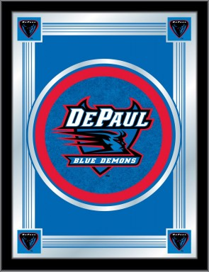DePaul Logo Mirror