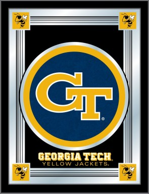 Georgia Tech Logo Mirror