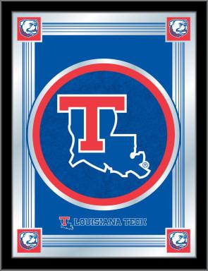 Louisiana Tech Logo Mirror
