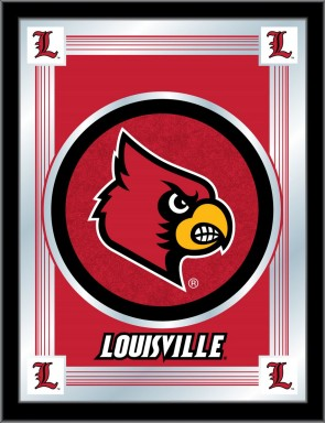 University of Louisville Logo Mirror