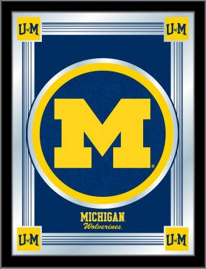 University of Michigan Logo Mirror