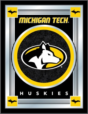 Michigan Tech Logo Mirror