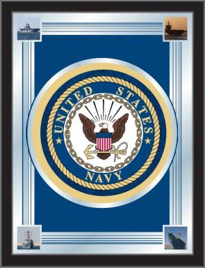 US Navy Logo Mirror