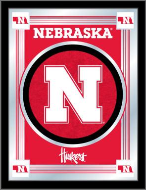 University of Nebraska Logo Mirror