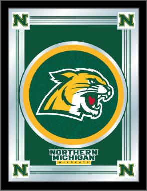 Northern Michigan University Logo Mirror