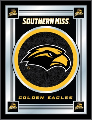 University of Southern Mississippi Logo Mirror