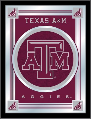 Texas A&M Logo Mirror