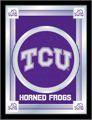 Texas Christian University Logo Mirror